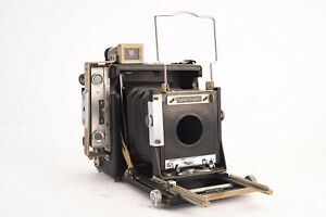 Graflex Speed Graphic 2 1/4 x 3 1/2'' Press Camera AS-IS Parts Repair V14