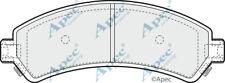 FRONT BRAKE PADS FOR CHEVROLET BLAZER S10 GENUINE APEC PAD1176