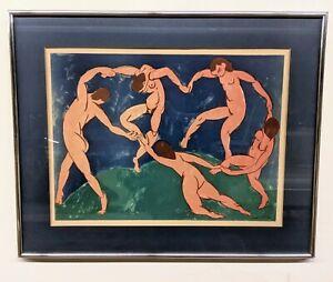 Vintage Rare Henri Matisse 'DANCE I' Silkscreen framed!