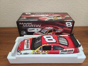 2008 #8 Mark Martin Steak-Umm Burgers COT 1/24 Action NASCAR Diecast