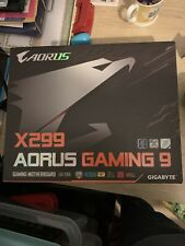 Intel i9 7980XE delidded with Gigabyte Aorus X299 Gaming 9 motherboard