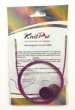 "KnitPro Interchangeable Needle Cable to make 120cm/47"" Interchangable Needles"