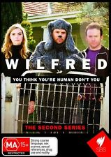Wilfred : Series 2 (DVD, 2010, 2-Disc Set) Season 2 Brand New  Region Free