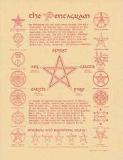 Pentagram Parchment for Book of Shadows!