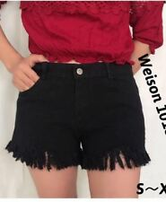 DENIM SHORT #1018 (BLACK)  XL