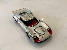 """Dinky Toys 4"""" FORD 40 RV Diecast Vintage Car No:132 Silver"""