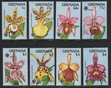 Grenada   1990   Sc # 1800-07   Orchids   MNH   (54205)