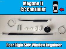 Renault Megane II CC Cabriolet Rear Right Window Regulator Repair Kit