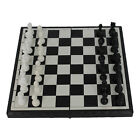 Magnetic Folding Chessboard Chess Board Box Set Portable Kids Game Toy Puzzle AC