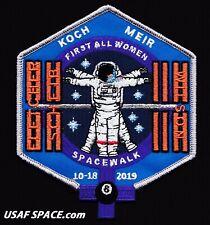 First ALL WOMEN SPACE WALK - ISS NASA ORIGINAL Tim Gagnon AB Emblem SPACE PATCH