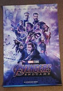 Avengers Endgame 27x40  1-Sheet DS Movie Poster Double sided Marvel IRON MAN