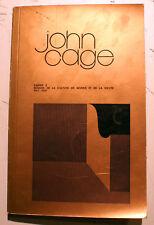 JOHN CAGE/MAISON DE LA CULTURE DE NEVERS/1971/FLUXUS