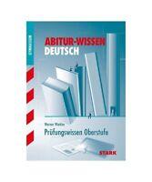 """Werner Winkler """"Abitur-Wissen Deutsch. Prüfungswissen Oberstufe"""""""