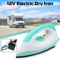 150W 12V Portable Electric Caravan Steam Iron Steamer Car RV Travel Non-stick