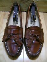 MADE IN THE USA!  Men's Shoes COLE HAAN Tassel Loafer Sz 9.5 D Brown Leather