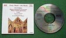 Tomas Luis de Victoria Masses / Lobo Versa Est In Luctum Oxford Camerata CD