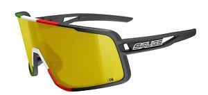 SALICE 016 CRX BLACK-WHITE frame SMOKE photochromatic RW BLACK lens sunglasses