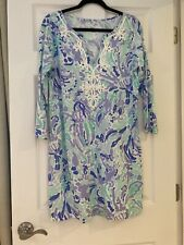 Lilly Pulitzer Dress NWT Marina Dress In Nice Ink Size LARGE