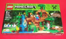 NEW LEGO MINECRAFT - NEW - 21125 - THE JUNGLE TREE HOUSE - SEALED AND NEW