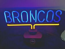 Denver Broncos Neon Light Sign