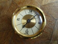 Vintage Gold plated JAEGER 8 Days Bellows Clock Ref. 427. For parts.