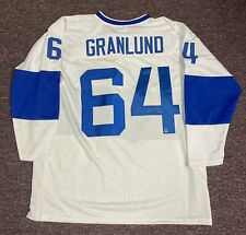 Mikael Granlund Autographed Finland Stitched Hockey Jersey w/ DA COA