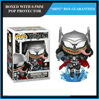 Funko Pop! Marvel Venomized Thor Chalice Exclusive #703 in Protector in Hand