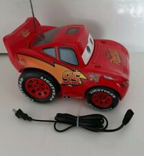 Disney Lightning McQueen CD Boombox Model C500B Great condition! Stickers intact