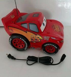Disney Lightning McQueen CD Boombox Model C500B Great condition! Stickers intact