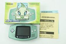 Nintendo Gameboy Advance Celebi Green Pokemon Center NCD Box From Japan