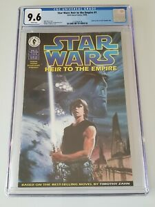 Star Wars Heir To The Empire #1 CGC 9.6 WH 1st Appearance Grand Admiral Thrawn