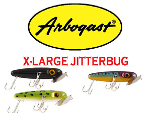 "Arbogast XL Jitterbug, 4-1/2 "" 1-1/4 oz, Model G700, Choice of Colors"