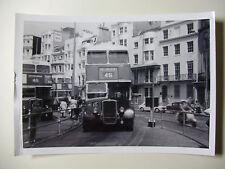 ENG1902 - 1960s BRIGHTON HOVE & DISTRICT OMNIBUS Co - BUS No482 PHOTO