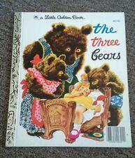 """A Little Golden Book """"The Three Bears"""" #301-50 1976"""