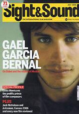 GAEL GARCIA BERNAL / ENNIO MORRICONE / JACK NICHOLSONSight & SoundJuly2006