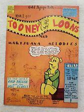 teufel uvva comic tooney hosen & maijuana melodien #1 (1971) vf