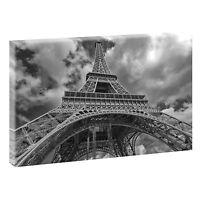 Paris sw  Bild auf Leinwand Keilrahmen Poster Modern Design XXL 120 cm*80 cm 645