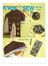 Kwik Sew SEWING PATTERN K4147 Travel Accessories
