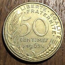 PIECE DE 50 CENTIMES LAGRIFFOUL 1962 COL 3 PLIS (363)