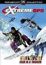 """EXTREME OPS""- Adrenaline sports action film- Brand New Original UK DVD 2003"