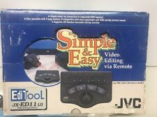 JVC Video Editing Controller JX-ED11 (J) Simple & Easy Video Editing Complete