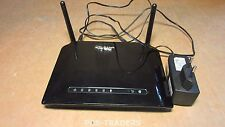 D-LINK Wireless ADSL Router DSL-2741B 4X LAN INCL PSU & ANTENNAS
