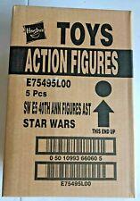 Star Wars ESB 40th Anniversary Wave 1 Set of 5 Factory Sealed Case Vintage Card