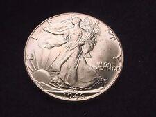 1946 WALKING LIBERTY HALF DOLLAR GORGEOUS WHITE GEM BU COIN!   #40
