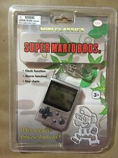 NEW Nintendo Mini Classics Super Mario Bros. Keychain Video Game Watch NIP