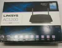 New Linksys AC1200 Dual Band Smart Wi-Fi Router EA6100 AC 1200 Link sys EA 6100