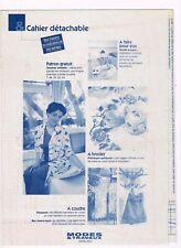 Idéale pour cacher les rondeurs & 5 ouvrages. 03/2002,Vintage Neuf non découpé.