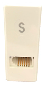 RJ45 TO BT SOCKET DIRECT FIT SECONDARY LINE ADAPTER FROM PRESSAC, VOICE BALUN