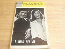 Playbill Program 6 RMS RIV VU Helen Hayes Theatre 1972 Jerry Orbach