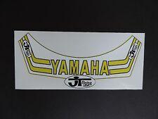 VINTAGE MOTOCROSS JT Racing Team Yamaha Helmet Visor Decal AHRMA CR KX YZ RM